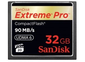 SanDisk Compact Flash 32GB Extreme Pro 90MB/s