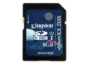 Kingston SDHC 8GB Ultimate 233x