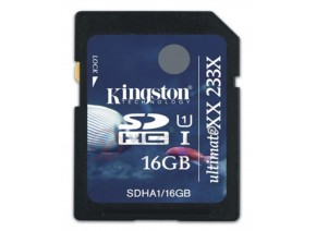 Kingston SDHC 16GB Ultimate 233x