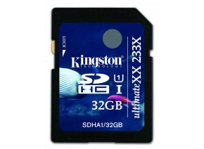 Kingston SDHC 32GB Ultimate 233x