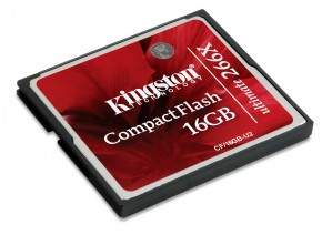 Kingston Compact Flash 16GB Ultimate 266x