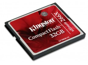 Kingston Compact Flash 32GB Ultimate 266x