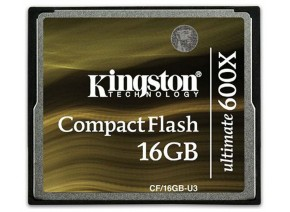 Kingston Compact Flash 16GB Ultimate 600x