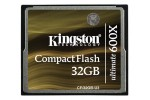 Kingston Compact Flash 32GB Ultimate 600x