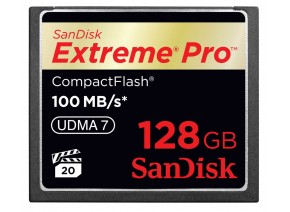 SanDisk Compact Flash 128GB Extreme Pro 100MB/s
