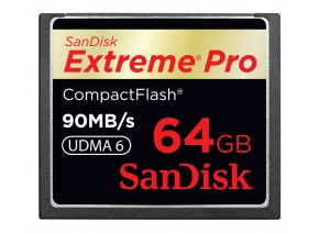 SanDisk Compact Flash 64GB Extreme Pro 90MB/s