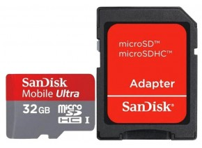 SanDisk Micro SDHC 32GB Mobile Ultra