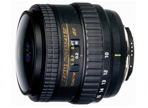 Tokina AT-X 10-17mm f/3.5-4.5 AF DX Fisheye