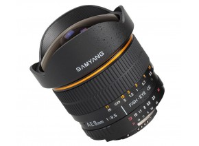 Samyang 8mm f/3.5 Aspherical IF MC Fisheye CS