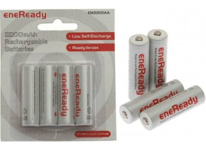 Triax Eneready NiMh 4xAA 2200mAh