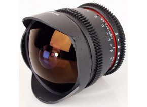 Samyang 8mm T3.8 Aspherical IF MC Fisheye CS VDSLR