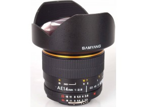 Samyang 14mm f/2.8 IF ED UMC Aspherical AE