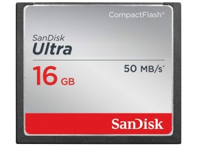 SanDisk Compact Flash 16GB Ultra 50MB/s