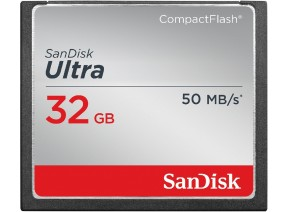 SanDisk Compact Flash 32GB Ultra 50MB/s