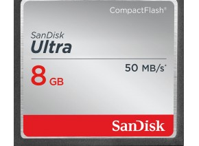 SanDisk Compact Flash 8GB Ultra 50MB/s