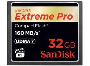 SanDisk Compact Flash 32GB Extreme Pro 160MB/s