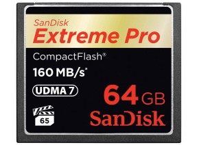 SanDisk Compact Flash 64GB Extreme Pro 160MB/s