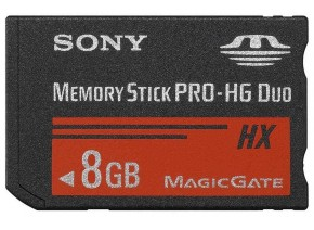 Sony Memory Stick PRO-HG Duo HX 8GB