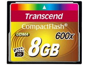 Transcend Compact Flash 8GB 90MB/s