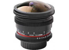 Samyang 8mm T3.8 Aspherical UMC Fisheye CS II DH VDSLR