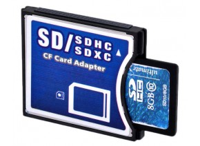 SDHC-Compact Flash adapter