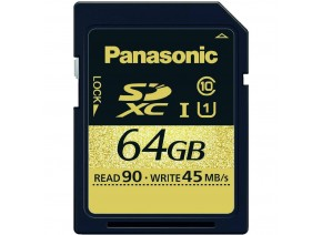 Panasonic SDXC 64GB 90MB/s 4K