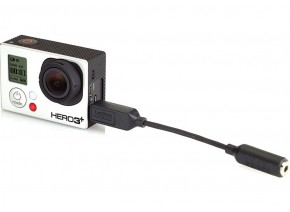 3.5mm mikrofon adapter za GoPro - AMCCC-301