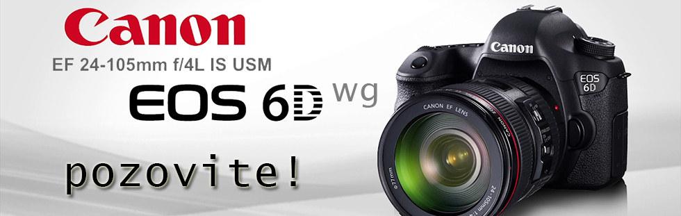 Canon 6D 24-105