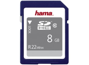 Hama SDHC 8GB 22MB/s
