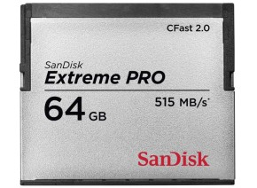 SanDisk 64GB Extreme PRO CFast 2.0 515MB/s