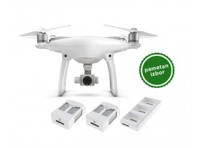 DJI Phantom 4 + 2 batteries + charging hub