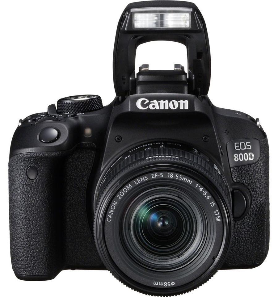 Pcfoto Canon Eos 800d 18 55 Is Stm Nikon D5600 Kit Af P 55mm Vr Paket