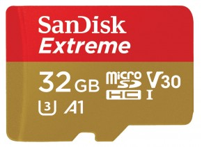 SanDisk Micro SDHC 32GB Extreme 100MB/s