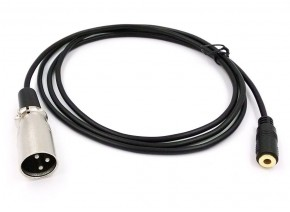 Mic adapter 3.5mm to XLR