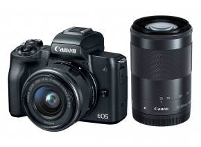 Canon EOS M50 15-45 IS STM + 55-200 IS STM