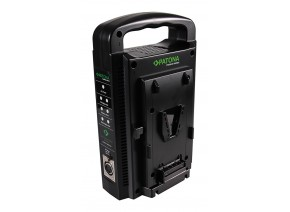Patona Dual V-Mount Charger for Sony BP-95W BP-GL65 BP-190WS