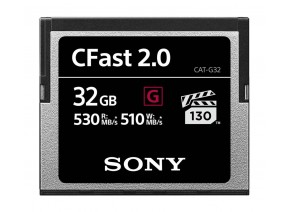 Sony 32GB CFast 2.0 G 530MB/s