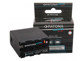 Patona Platinum NP-F960/F970 with USB Output and Micro USB Input