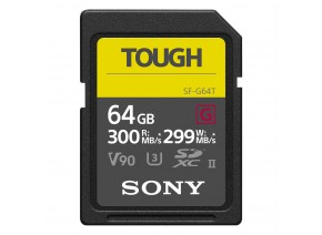Sony SDXC 64GB SF-G Tough UHS-II 300MB/s