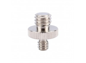 Stainless steel screw 1/4'' Male to 3/8'' Male Threaded Screw Adapter