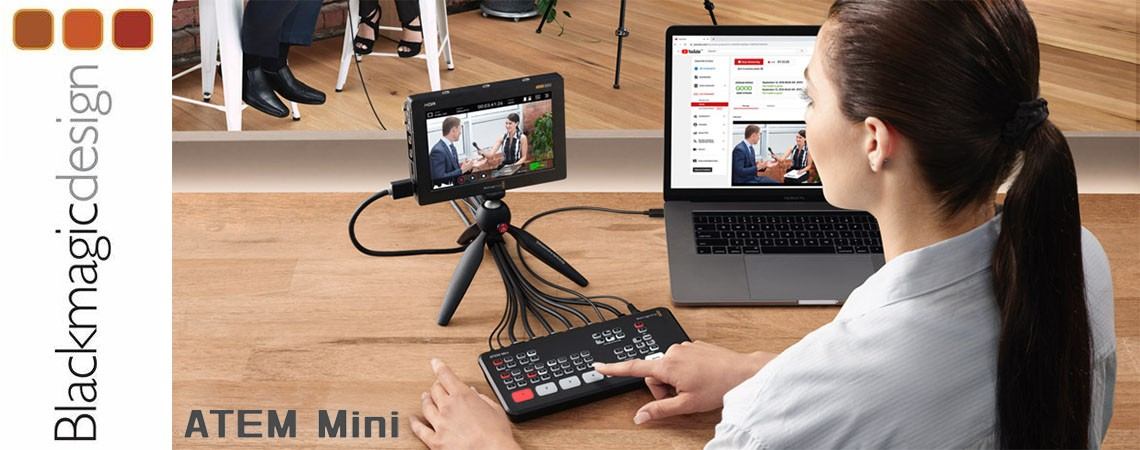 Blackmagic Atem Mini live stream mikseta