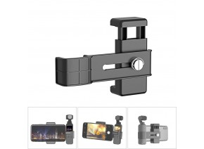 Mobile Phone Clip Holder Mount Bracket for DJI Osmo Pocket