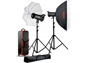 Godox QT600 II 2-Light Studio Flash Kit